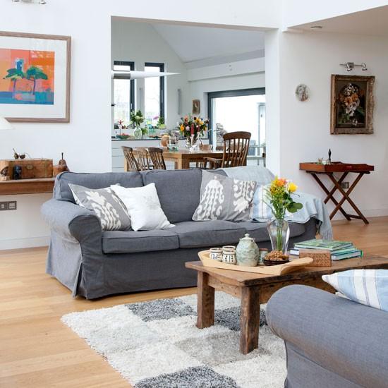 Open Plan Kitchen Living Room Designs: Open Plan Living Room