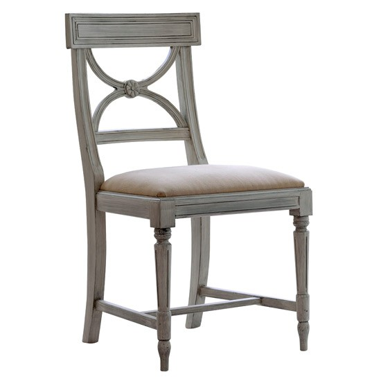 Painted Dining Room Chairs: Bellman Painted Dining Chair From Gustavian