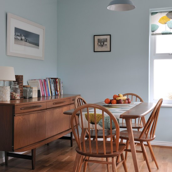 dining room vintage | Retro-style dining room | Modern dining room ideas ...