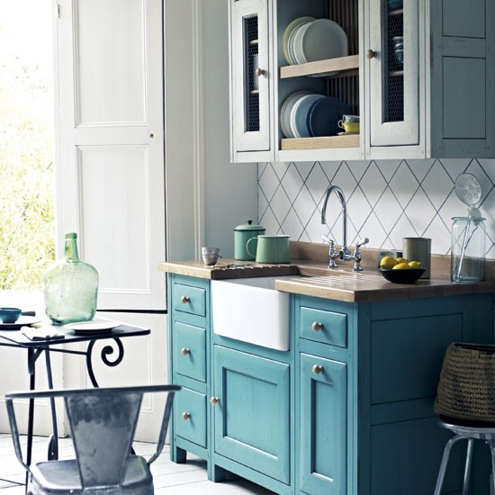 Buy Free Standing Kitchen Cabinets: Bastide Kitchen From Fired Earth