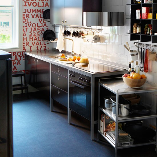 Ikea Uk Stainless Steel Kitchen Cabinets: Udden Series From Ikea