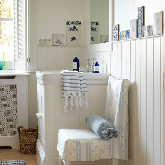 Calming Bathroom Ideas: Country Bathroom Ideas