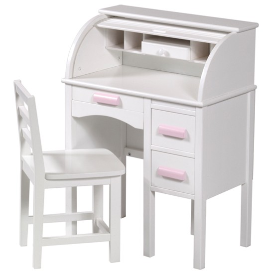 Guidecraft Jr Rolltop Desk In White From Kid S Playstore