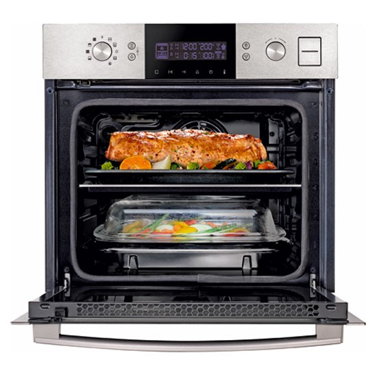 dual cook steam oven from samsung kitchen appliances for country cooks. Black Bedroom Furniture Sets. Home Design Ideas