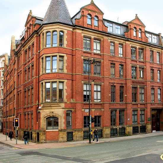 British Apartments: 19th-century Cotton Mill Converted Flats
