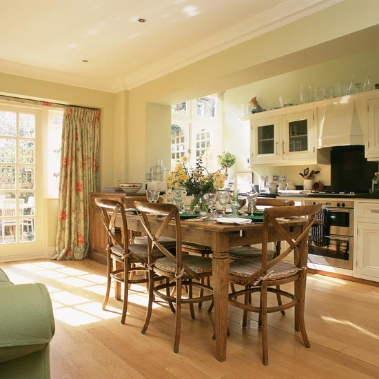 Creating An Open Kitchen And Dining Room: Family Kitchen-diners - 10 Ideas
