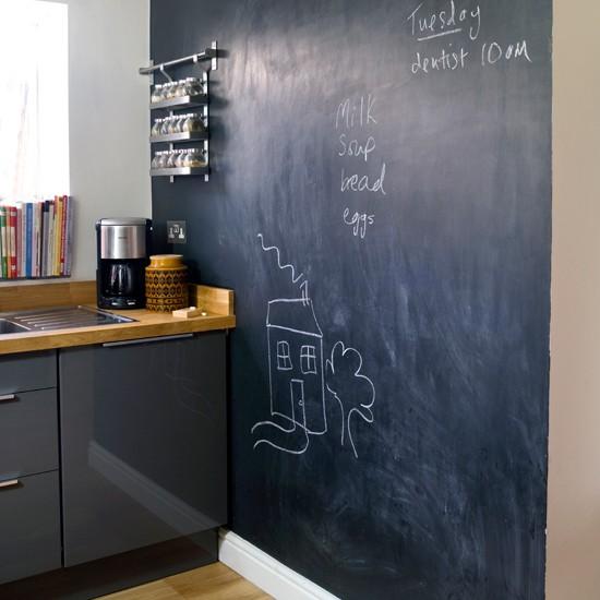 Chalk Paint For Kitchen Cabinets Uk: Creative Blackboard Kitchen