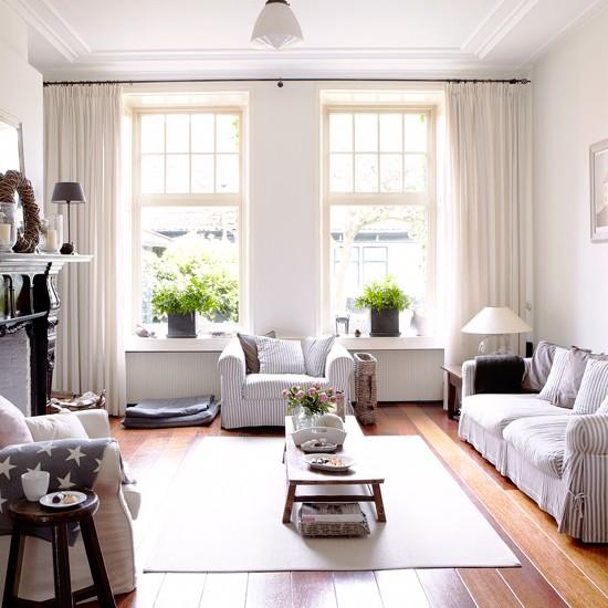 Coastal Country Living Room Decorating Ideas Home Improvement Blogs