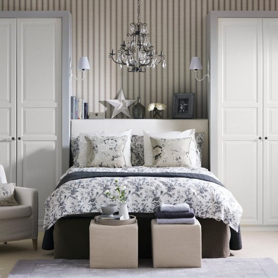 Gray Bedroom Decorating Ideas: Country Decorating Ideas