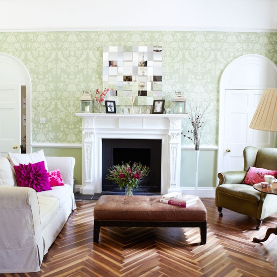 Period Living Room With A Modern Twist Country