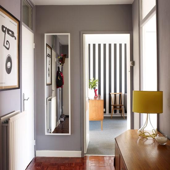 Grey Paint Ideas: Hallway Decorating Ideas