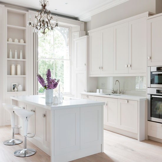 White Kitchen Cabinets Maintenance: Housetohome.co.uk
