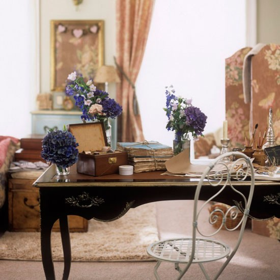 Vintage Antique Dressing Room