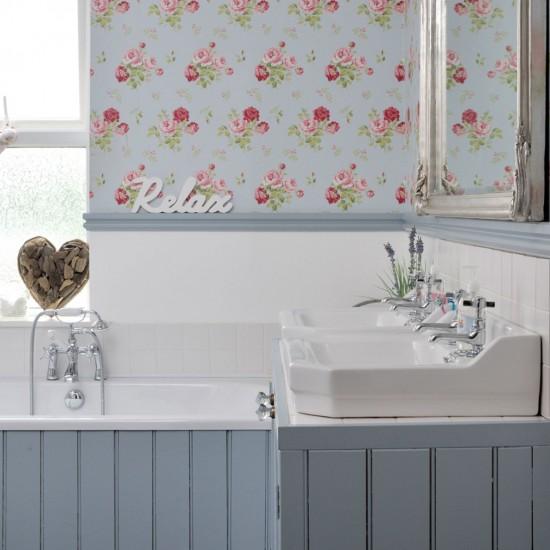 Bathroom Paneling Ideas: Bathroom Decorating Ideas