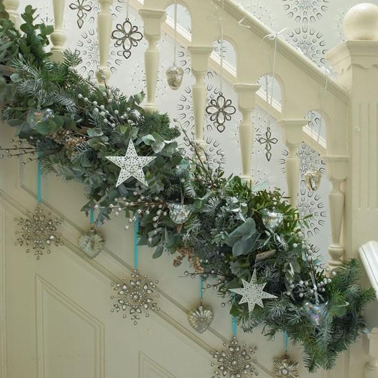 Jewelled Christmas Hallway Decorations