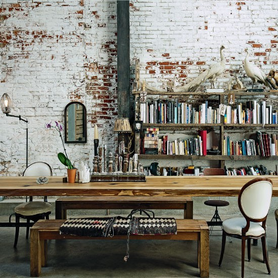 Home Decor Warehouse: Decordemon: Vintage Industrial Converted Warehouse