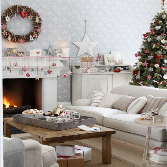 Decorating Idea Living Room: Keeping The Christmas Spirit Alive 365: A Modern Country