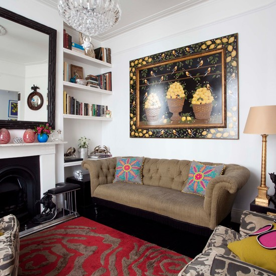 Small Eclectic Living Rooms: Eclectic Living Room