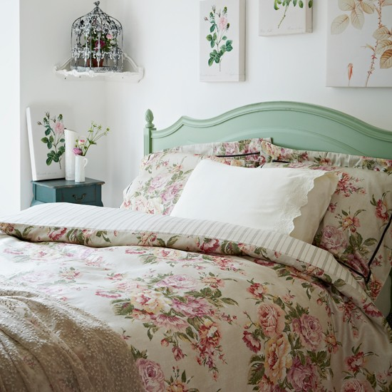 Country Bedrooms: Floral Country Bedroom