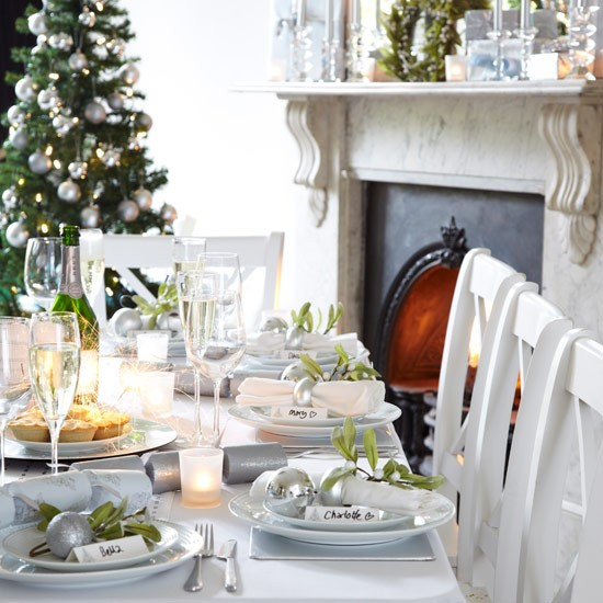 Choose elegant tableware | Christmas decorating ideas | PHOTO GALLERY | Style at Home | Housetohome