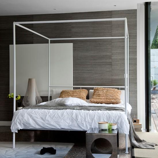 Modern Four Poster Bedroom Housetohome Co Uk