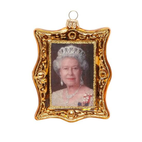 Little London Gold Queen's Portrait Decoration From