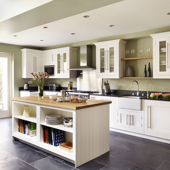 Shaker Style Kitchen Ideas: Kitchen Island Ideas