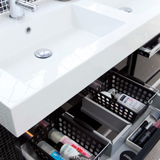 Discover This Bathroom's Storage