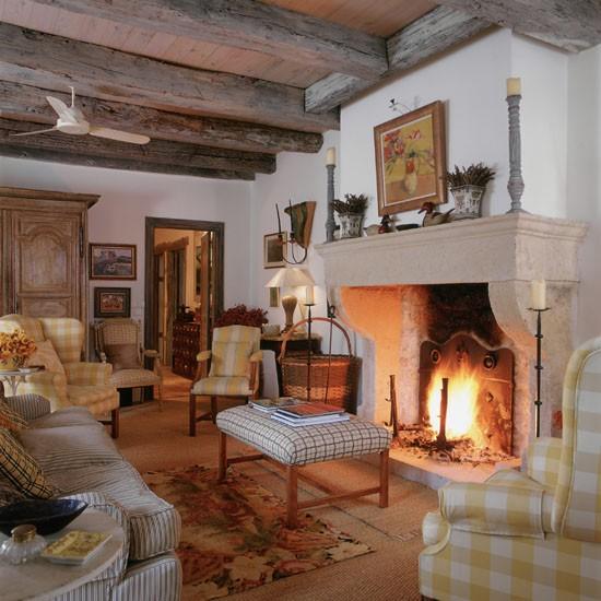 Housetohome Co Uk: Traditional Grand Fireplace