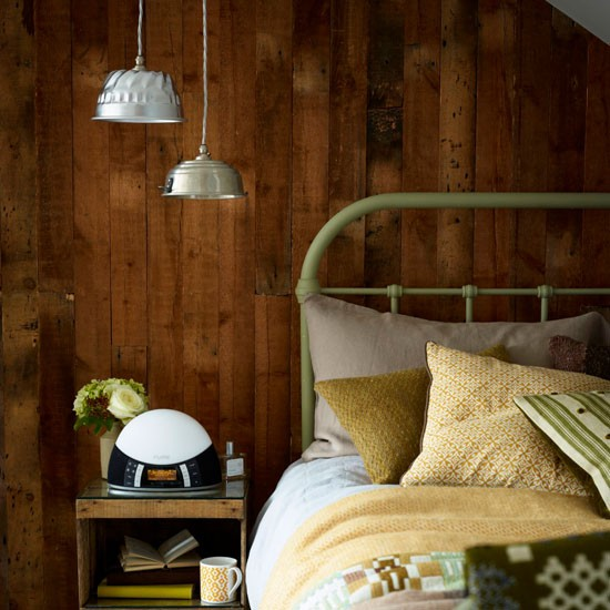 Bedroom Art Supplies: Use Wood And Natural Materials