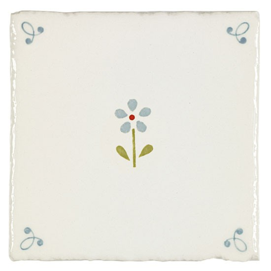 Flowerbed Tile From Susie Watson Designs