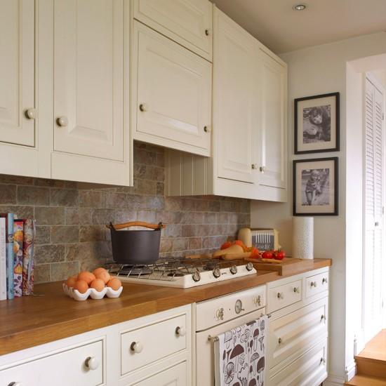 Housetohome Co Uk: Neutral Shaker Kitchen
