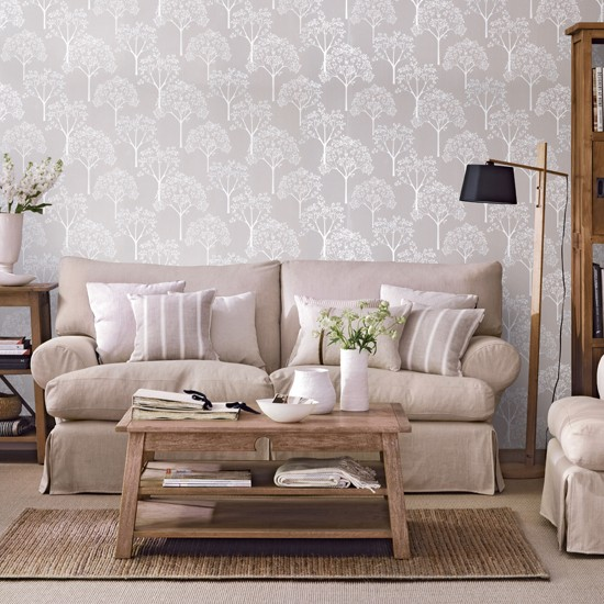 Casual Living Room Decorating Ideas: Cosy, Neutral Living Room
