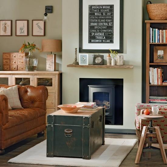 Classic Vintage Living Room