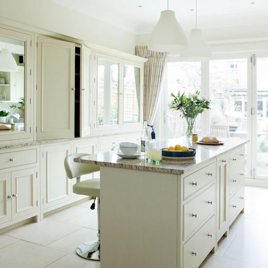Traditional White Kitchen Cabinets Ideas: Traditional White Kitchen