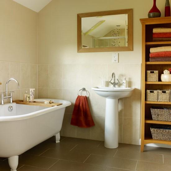 stylish storage  family bathroom ideas  housetohomecouk