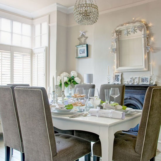 Gray Dining Room Ideas: Traditional Dining Room Ideas