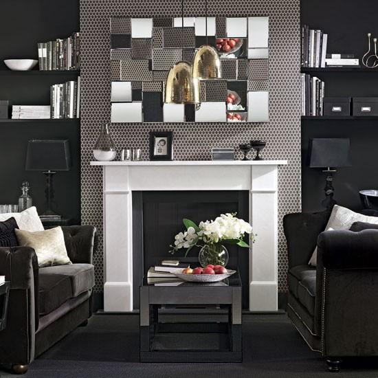 Art Deco Living Room Set: Kitchen, Bathroom, Bedroom, Living Room And Garden Design