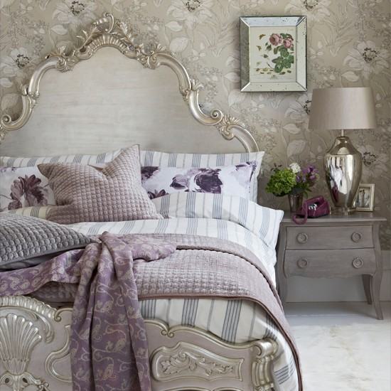 Country Chic Bedroom Decorating Ideas: Glamorous Bedroom Decorating Ideas