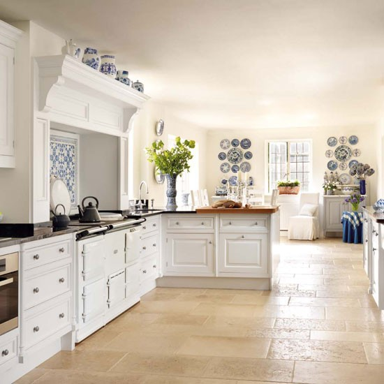 Dreaming Of An Open Plan Kitchen: Open-plan Country Kitchen