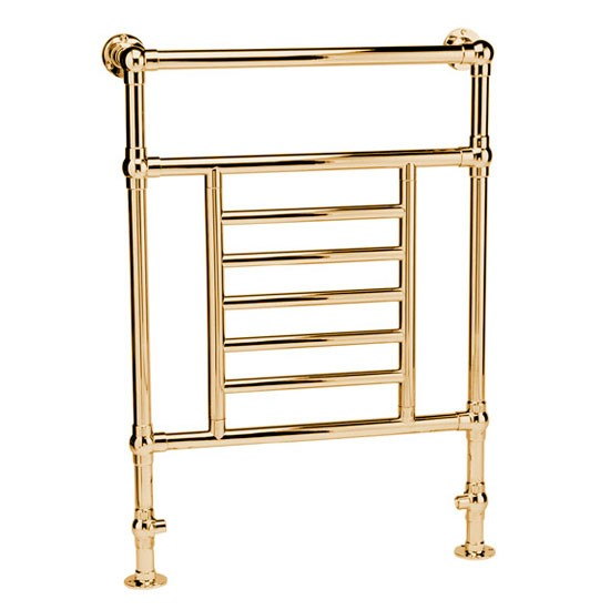 Gold Towel Rails For Bathrooms: Mere Ramillies Traditional Towel Rail From Victorian