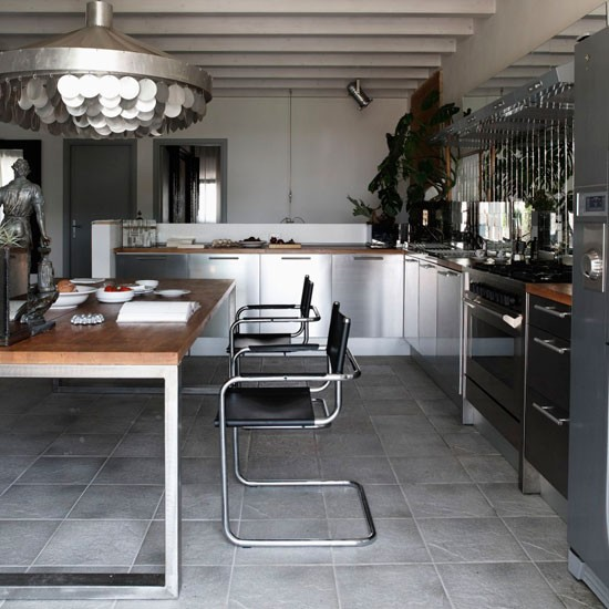 Industrial Kitchen Modern Kitchen Housetohome Co Uk
