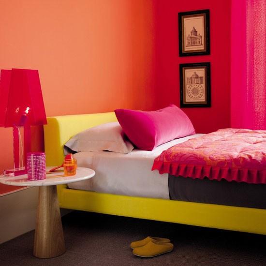 Vibrant Summer Bedroom