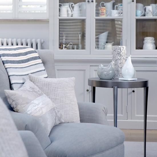 Soft Grey Living Room Ideas: Soft Grey Family Living Room