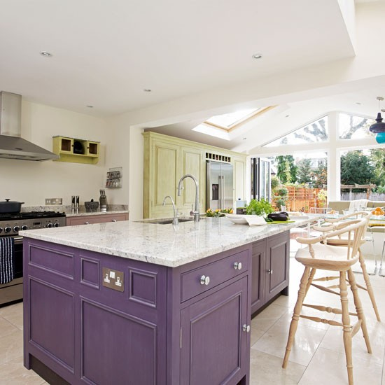 Zoned Kitchen Extension Kitchen Extensions Housetohome