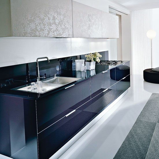 Two Tone Kitchen Cabinets Ideas: Contemporary Kitchen Ideas