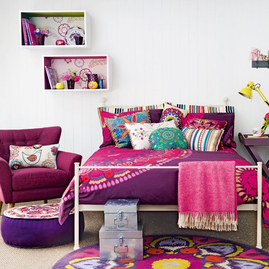 . Home Modern Decorating Ideas 2016  Colourful Bedroom Decorating Ideas