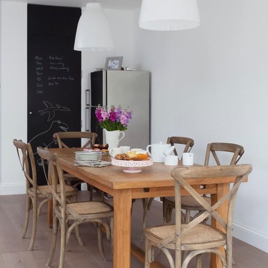 Rustic Modern Dining Room Ideas: Modern Rustic Dining Room
