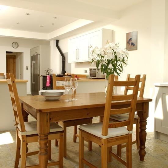 Open Plan Kitchen Diner: Wooden Open-plan Kitchen-diner