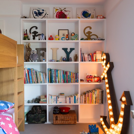 Shared Boys Bedroom Storage: Boy's Bedroom With Storage